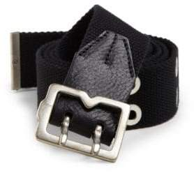 McQ Canvas Metal-Tip Belt