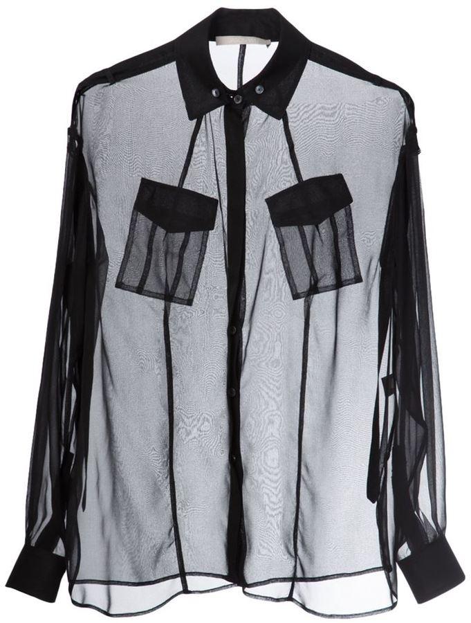 Jason Wu sheer shirt