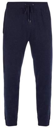 Derek Rose Finley Cashmere Track Pants - Mens - Navy