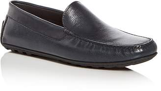 a. testoni A.Testoni Men's Leather Moc Toe Drivers
