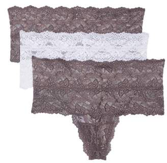 SKARLETT BLUE 3-Pack Goddess High Rise Thongs