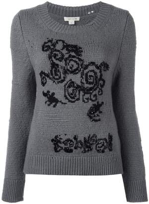Marc Jacobs distressed knit jumper