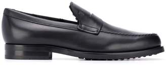 Tod's lined gommino loafers
