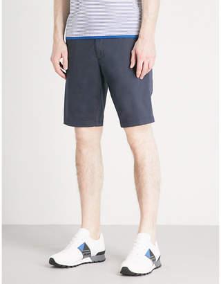 BOSS GREEN Slim-fit cotton-blend shorts