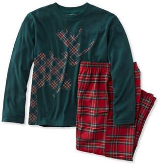 L.L. Bean (エルエルビーン) - キッズ・ビーンズ・フランネルPJ 、Tシャツとパンツのセット