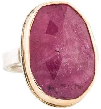 Jamie Joseph Pink Sapphire Cocktail Ring