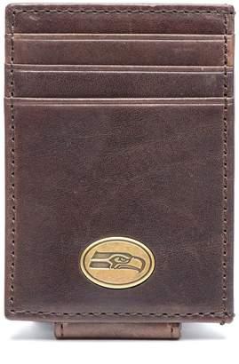 Unbranded Seattle Seahawks Legacy Magnetic Front Pocket Wallet