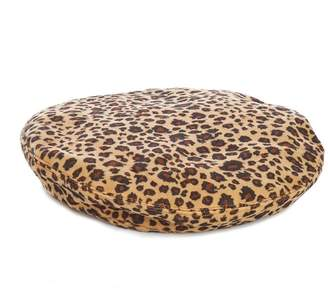 Quiz Brown Leopard Print Beret