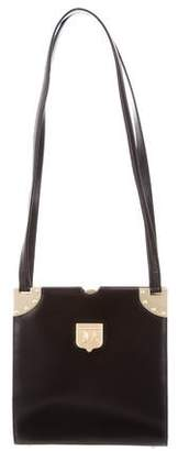 Kieselstein-Cord Textured Leather Shoulder Bag