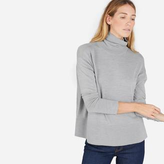 The Luxe Wool Square Turtleneck $88 thestylecure.com