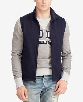 Polo Ralph Lauren Men Big & Tall Fleece Mock Neck Vest