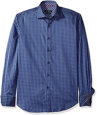Bugatchi Men's Deep Blue Button Down Shirt