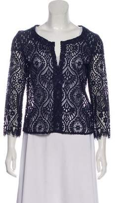 David Lerner 3/4 Sleeve Lace Top