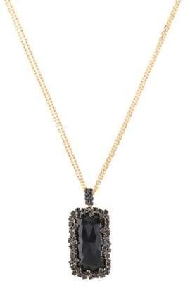Suzanne Kalan 18K Spinel & Diamond Pendant Necklace