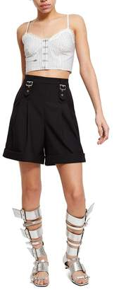 Opening Ceremony Tailored Buckle Short
