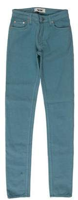 Acne Studios Mid-Rise Skinny Jeans w/ Tags