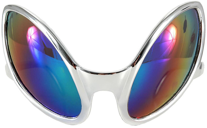 Silver Close Encounter Glasses