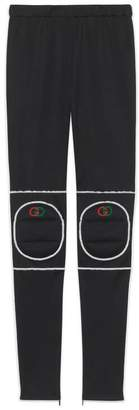 Gucci Technical jersey leggings with kneepads