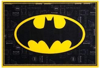 Wildkin Batman Black Area Rug