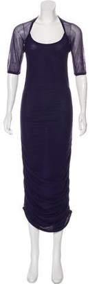 Jean Paul Gaultier Soleil Short Sleeve Maxi Dress