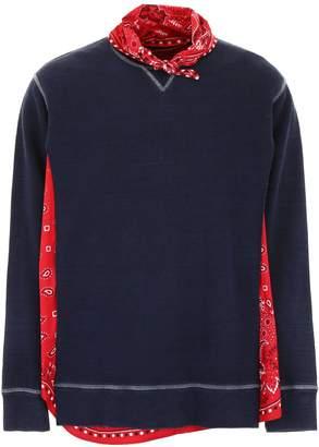 DSQUARED2 Sweatshirt With Bandana Print