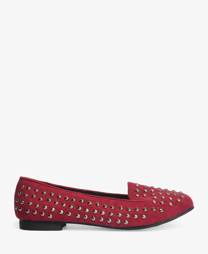Forever 21 Studded Loafers