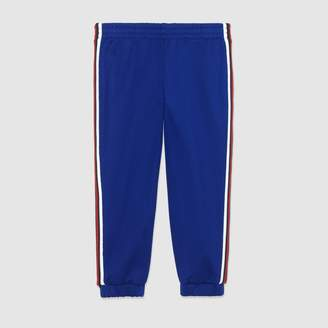 Gucci Children's technical jersey pant
