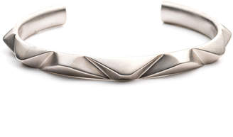 Third Crown Prizm Antique Silver Plated Cuff