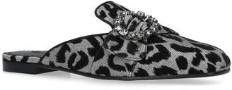 Dolce & Gabbana Sabot Leopard Slippers
