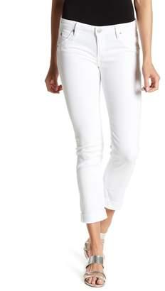 Hudson Baraca Crop Straight Cuff Jeans