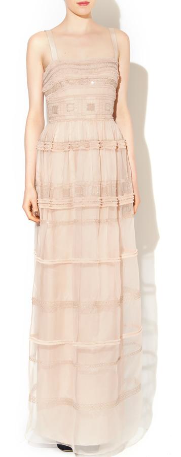 Temperley London London Strappy Cambon Dress