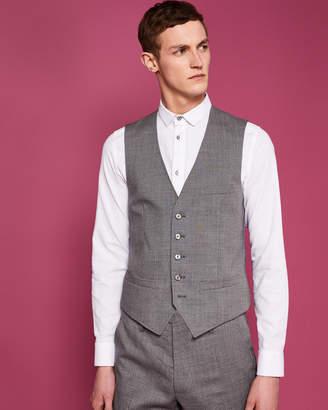 Debonair semi plain waistcoat