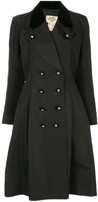 Hermes Pre-Owned Long Sleeve Coat Jacket
