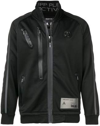 Philipp Plein zip detailed sports jacket