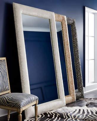Haute House Delilah Animal-Print Floor Mirror