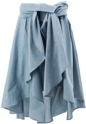 Faith Connexion draped skirt