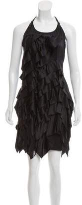 Prada Silk Ruffle Dress