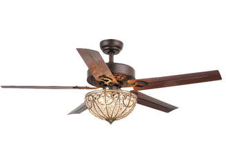 Astoria Grand 5 Blade Crystal Light Ceiling Fan Accessories: Pull Chains