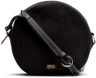Lulu Frances Valentine Corduroy Round Crossbody Bag