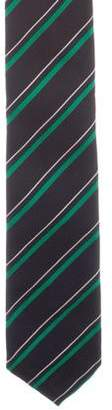 Thom Browne Silk Jacquard Tie