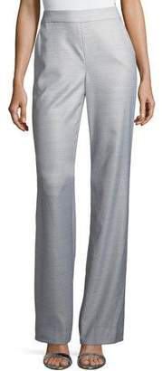 St. John Suiting Tailored Boot-Cut Pants