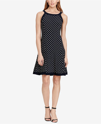 American Living Polka-Dot Jersey Dress $69 thestylecure.com