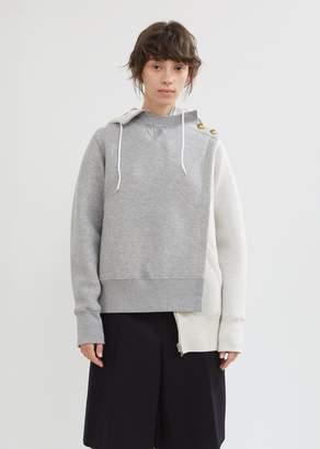 Sacai Hybrid Zip Hoodie Pullover
