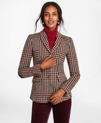 Brooks Brothers Plaid Wool-Alpaca-Blend Jacket