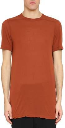Rick Owens Rust Cotton Level T-shirt