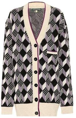 ALEXACHUNG Wool cardigan