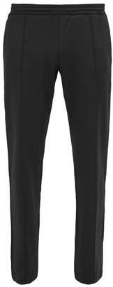 Valentino Logo Print Jersey Track Pants - Mens - Black