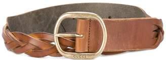 Gucci woven belt
