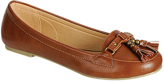 Tan Bell Tassel Loafer $31 thestylecure.com