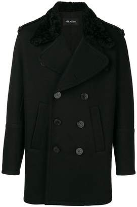 Neil Barrett double buttoned coat